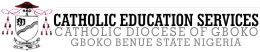 Catholic Education Services, Catholic Diocese of Gboko Logo